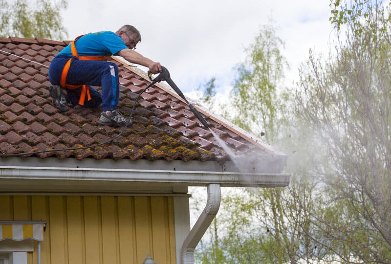 Roof Cleaning and Repairing